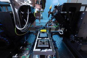 automated photonic chiplet assembly platform