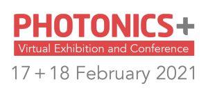 PhotonicsPlus 2021 conference logo