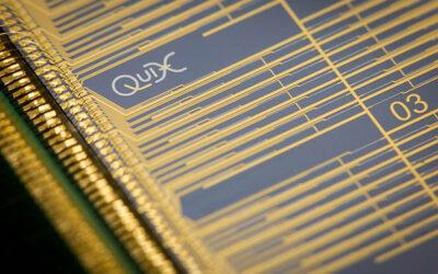 QuiX quantum photonic processor with wire bonds